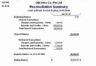 Sle Credit Card Reconciliation Report quickbooks asia