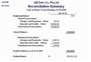 Sle Credit Card Reconciliation Report How To Read Your Bank Reconciliation Report Ledgerblog