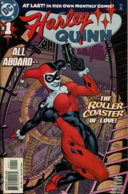 harley quinn at high dc books harley quinn character comic vine