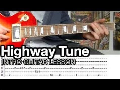 greta van fleet guitar tabs greta van fleet highway tune intro guitar lesson with