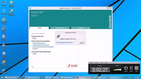 autocad full version installer 2007 how to install autocad 2007 in windows 8 0r 8 1 youtube
