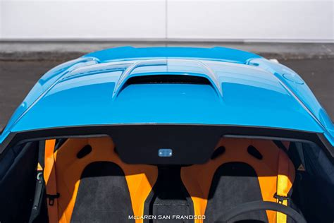 mexico blue mclaren 675lt with mso roof snorkel gtspirit