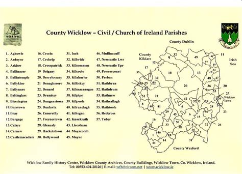 Church Of Ireland Marriage Records Wicklow Church Of Ireland Records Roots Ireland