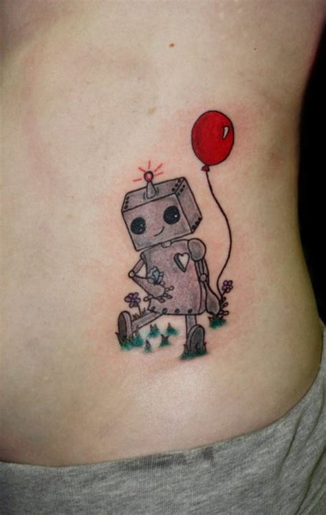 robotic tattoos robot tattoos designs ideas and meaning tattoos for you