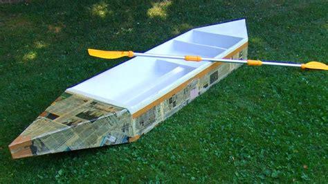 cardboard boat best design how to build a boat diy bill ship