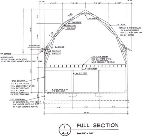 gambrel barn plans gerry woodworkers pole barn plans with material list
