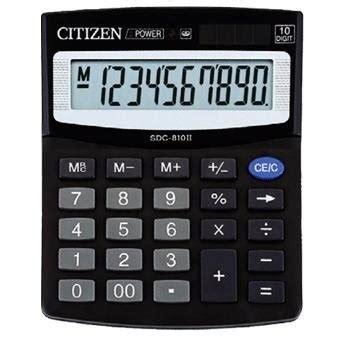 Kalkulator Sedang Citizen Sdc 810bn kalkulator citizen sdc 810bn jtp pozna蜆 sklep internetowy dystrybutor artyku蛯 243 w
