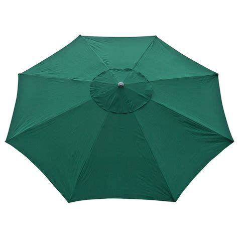 13 Foot Patio Umbrella 13 Ft Outdoor Patio Market Umbrella Aluminum Deck Yard Shade Green Ebay