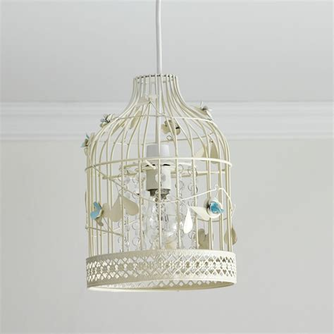 Wilko Metal Home Wire Decor Small At Wilko Wilko Birdcage Shade And Blue At Wilko
