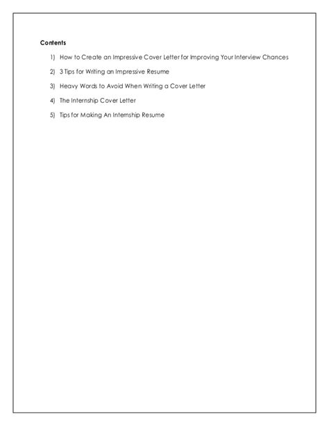 and sweet cover letter how to write impressive resume and cover letter