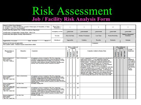 device risk assessment template hospital security risk assessment form pictures to pin on