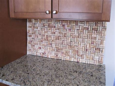 cork backsplash tiles 31 things you never knew you could do with cork
