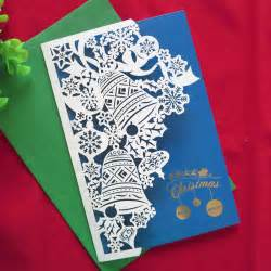 Handmade Greeting Card Business - 2016 new year 10 pcs creative handmade high quality merry