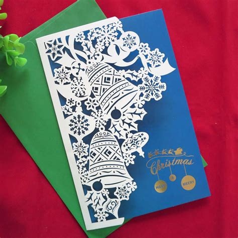 Handmade New Year Greeting Cards - 2016 new year 10 pcs creative handmade high quality merry