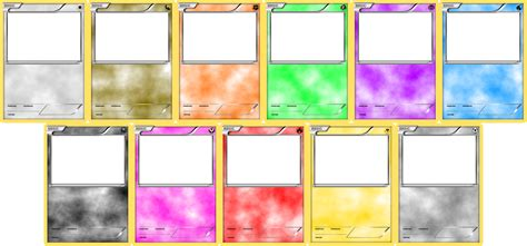 Pokemon Blank Card Templates Basic By Levelinfinitum On Deviantart Card Template 2