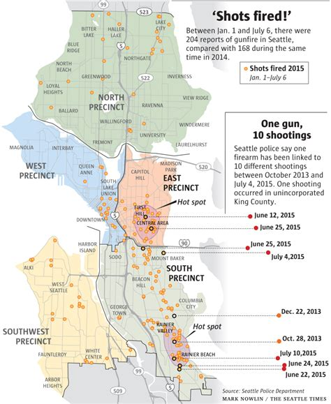 seattle map of crime fired calls on rise seattle link some to
