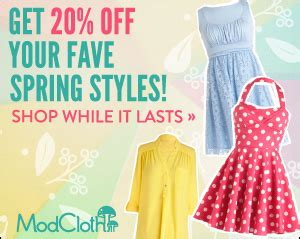 Modcloth Gift Card - get your twirl on and win a 350 gift card modcloth sale is live bullock s buzz
