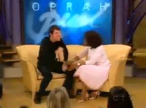 Tom Cruise On Oprah by A Criminal A An Idiot And A Liar Gif Cap