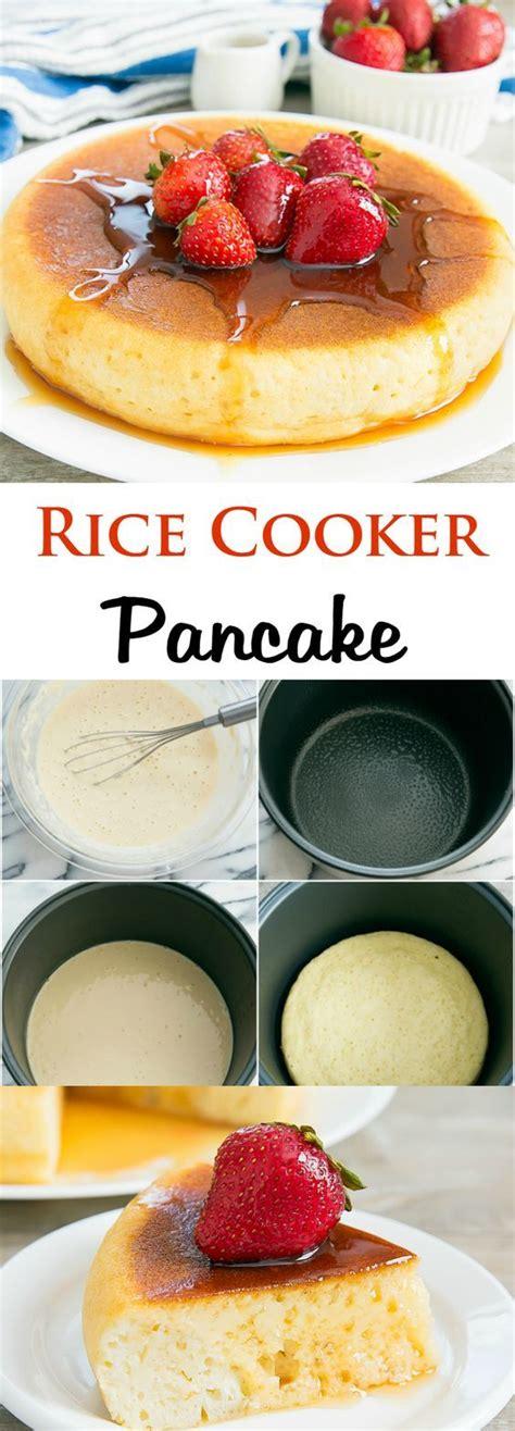 membuat pancake ricecooker best 25 rice cooker pancake ideas on pinterest