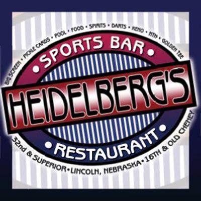 sports bars lincoln ne heidelberg s sports bar menu with prices 4620 bair ave