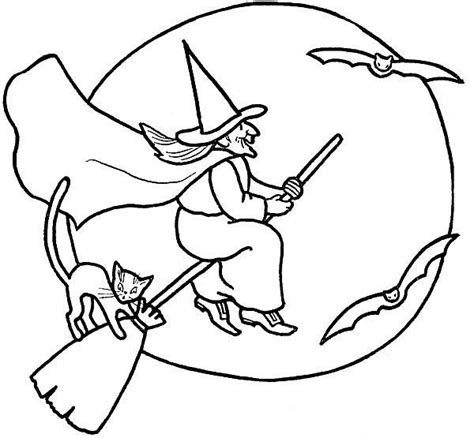 boy witch coloring page free halloween coloring pages for kids