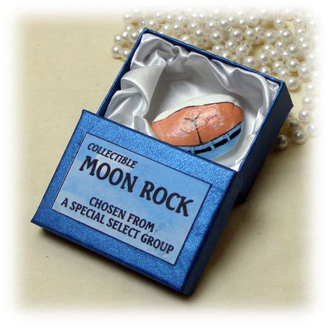 hysterical gag gift moon rock