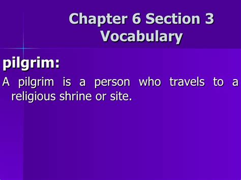 chapter 8 section 3 chapter 6 section 3 vocabulary
