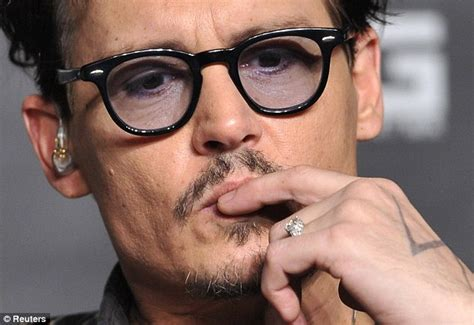 johnny depp tattoo on ring finger the engagement ring johnny depp gave amber heard was too