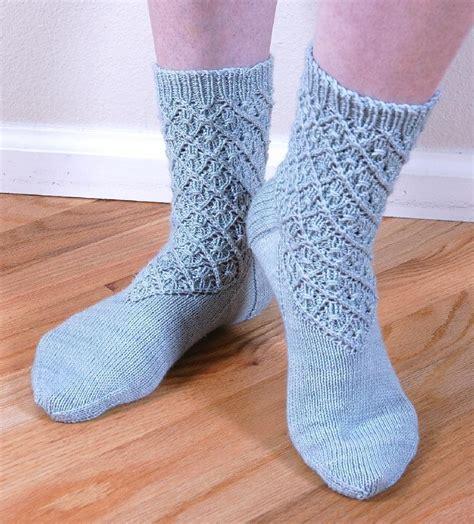 knitting pattern lace socks diamond lace socks knitting pattern by cheryl chow
