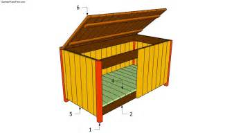garden storage box plans free how build the best outdoor building fun and easy