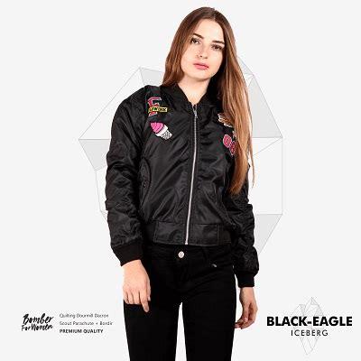 Terbaru Jaket Bomber Black King Kualitas Distro Pria jaket bomber wanita terbaru black eagle iceberg jaket jege