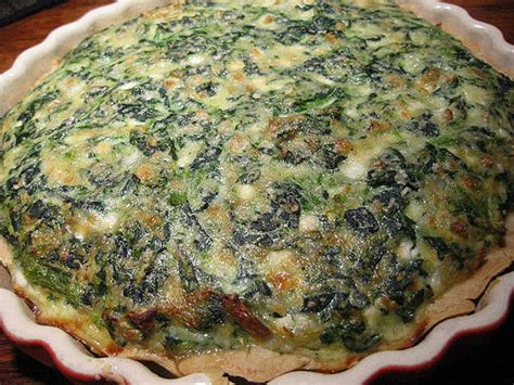 spinach and cottage cheese pie flickr photo