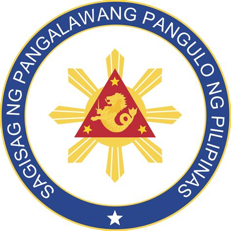 Vice Chair Person seal of the vice president of the philippines
