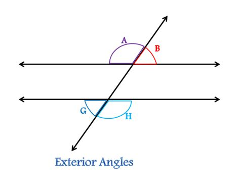 how do you indicate congruent angles in a diagram transversal in geometry definition angles