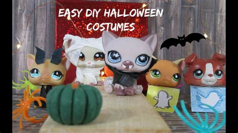 easy diy lps halloween costumes youtube