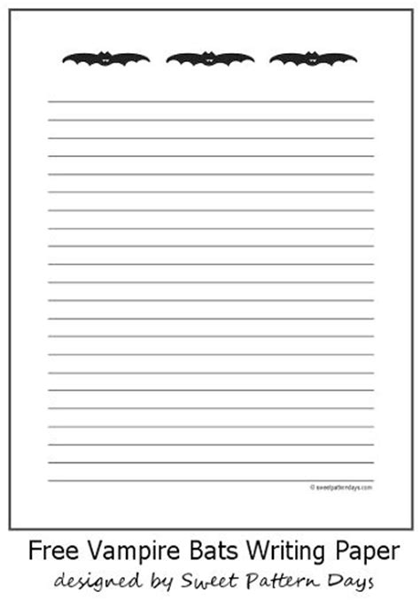 printable writing paper fourth grade halloween writing paper for second grade printable