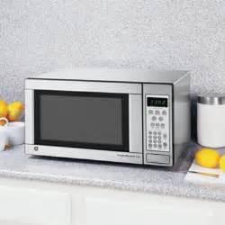 ge 1 1 cu ft 1100 watt countertop microwave stainless