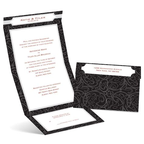 Wedding Invitation Lines by Graceful Lines Seal And Send Invitation S Bridal