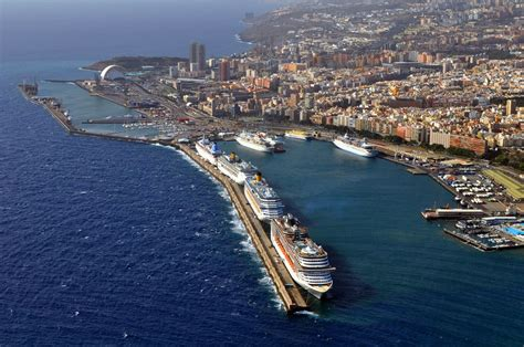santa tenerife cruise new tenerife terminal nearing completion cruise industry