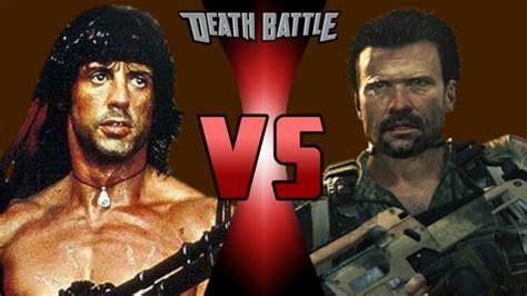 john rambo film wiki john rambo vs alex mason death battle fanon wiki