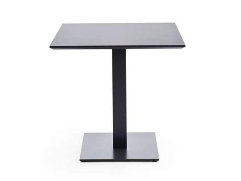 base tavolo base in acciaio quadrata per tavoli bar idfdesign