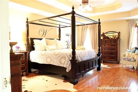 Cosy Master Bedroom by Cozy Master Bedroom Refresh Restyle