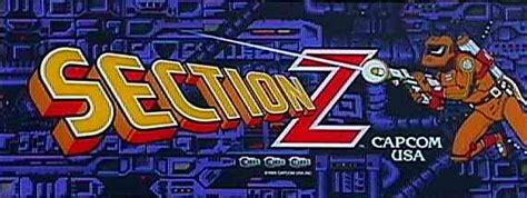 section z arcade section z videogame by capcom