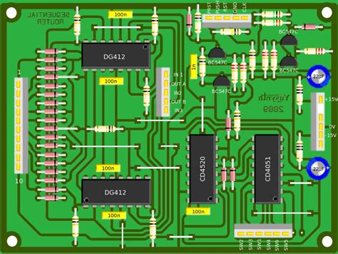 pcb layout job description electro music com wiki schematics sequential router