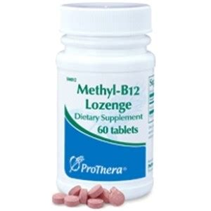 Methylation Side Effects Detoxing Urine by Methyl B12 Lozenge 60 Tabs By Prothera