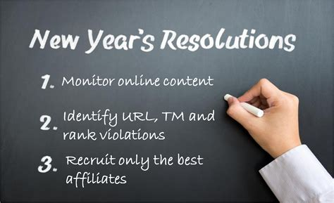 Check Up On Those New Year Resolutions by 3 New Year S Resolutions For Data Driven Affiliate Managers