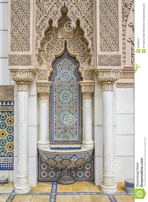 Moroccan Interior Design Elements marokkaanse architectuur stock afbeeldingen afbeelding