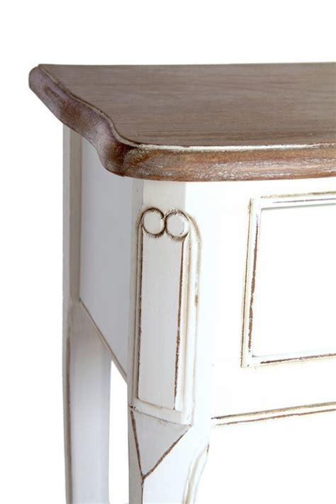 comodino stile provenzale comodino bicolore provenzale mobili etnici provenzali