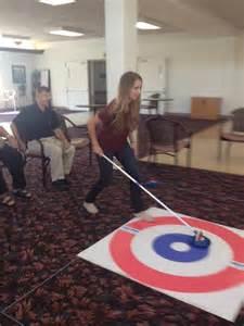 floor curling helping seniors keep active pei erin