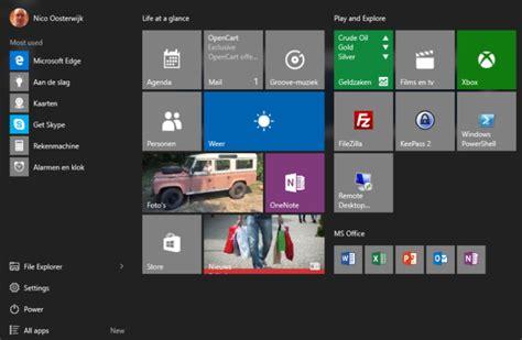 Layout Op Pc | forceer een custom startscherm layout in windows 10